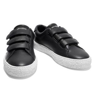 Axel Arigato Black Perforated Leather Sneakers